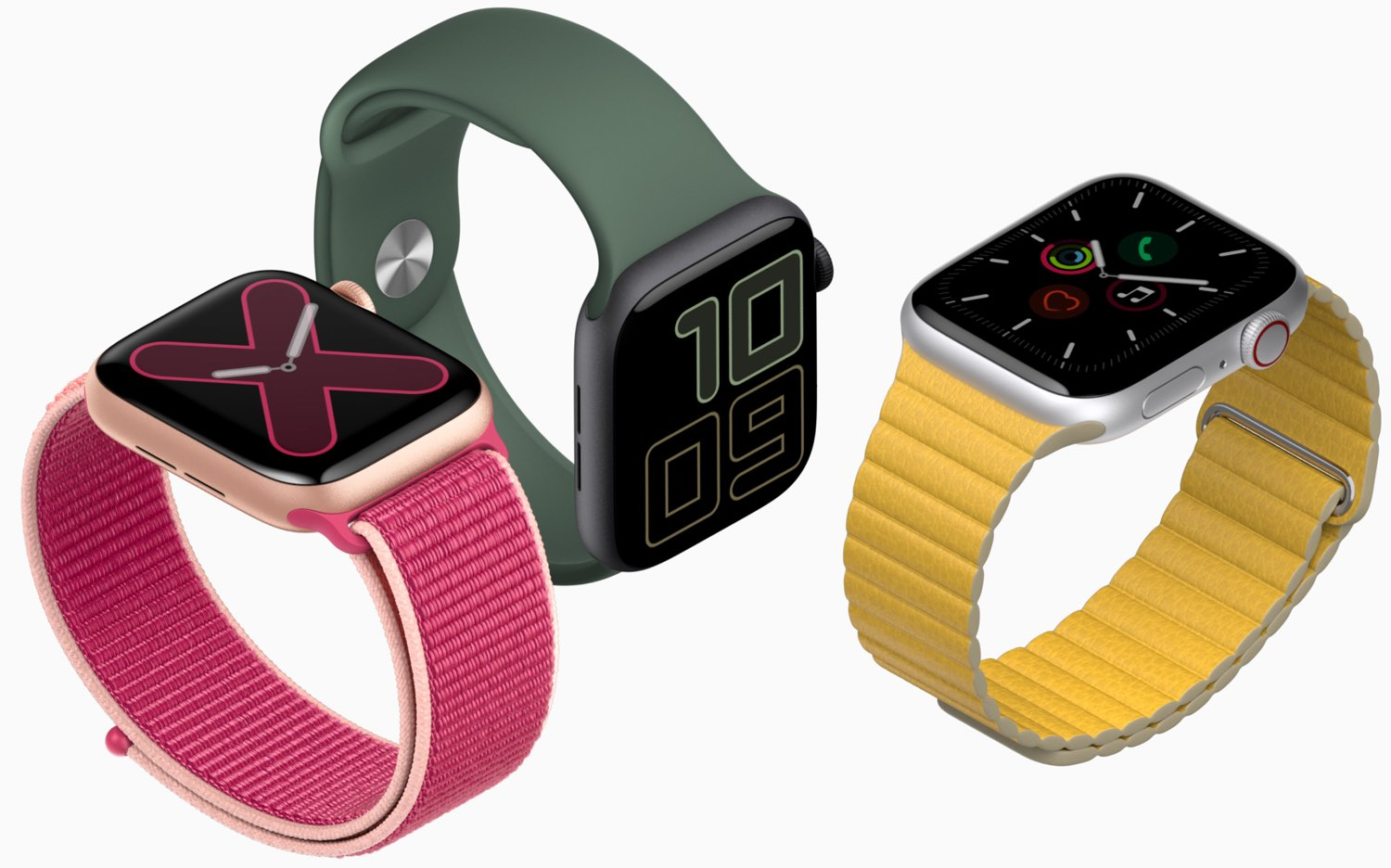 Apple Watch materialen