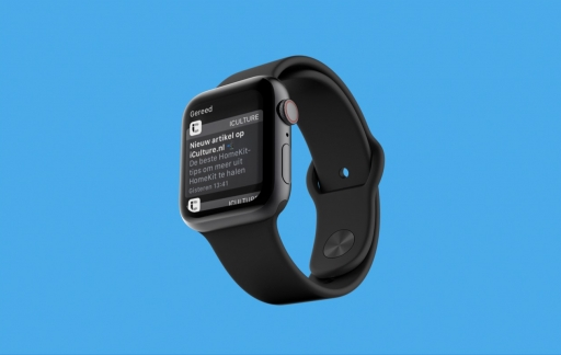 Apple Watch Berichtencentrum met meldingen.
