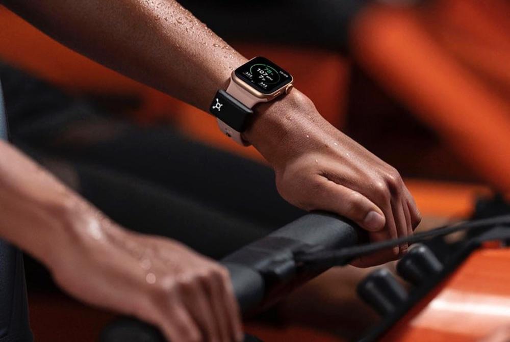 Apple Watch OrangeTheory hartslag sensor.
