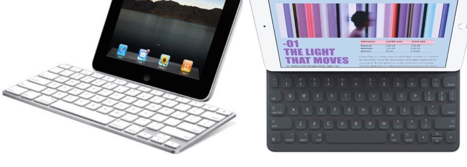 iPad Keyboard Dock vs Smart Keyboard.