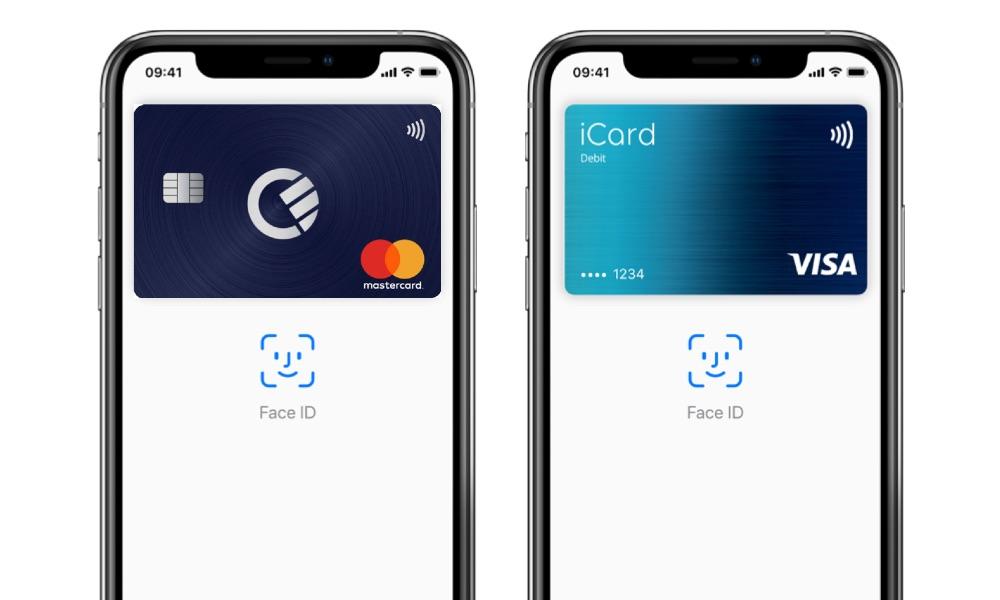 Curve en iCard in Apple Pay.