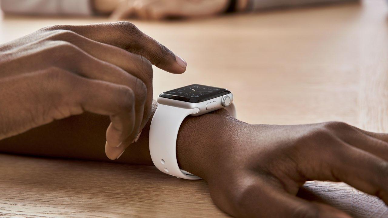 Apple Watch vrouw