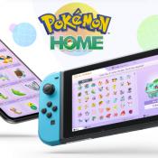 Pokémon Home app.