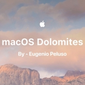 macOS Dolomites concept Eugenio Peluso