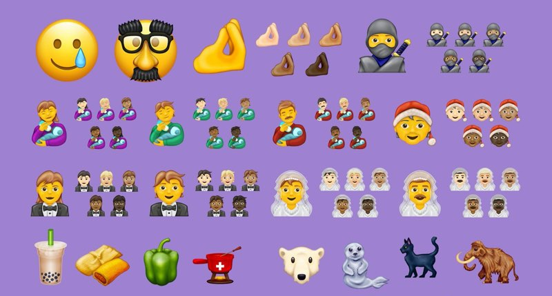Emoji 2020 voorbeelden
