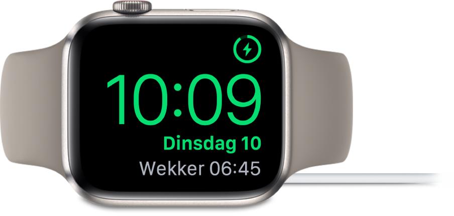 Nightstand op Apple Watch.