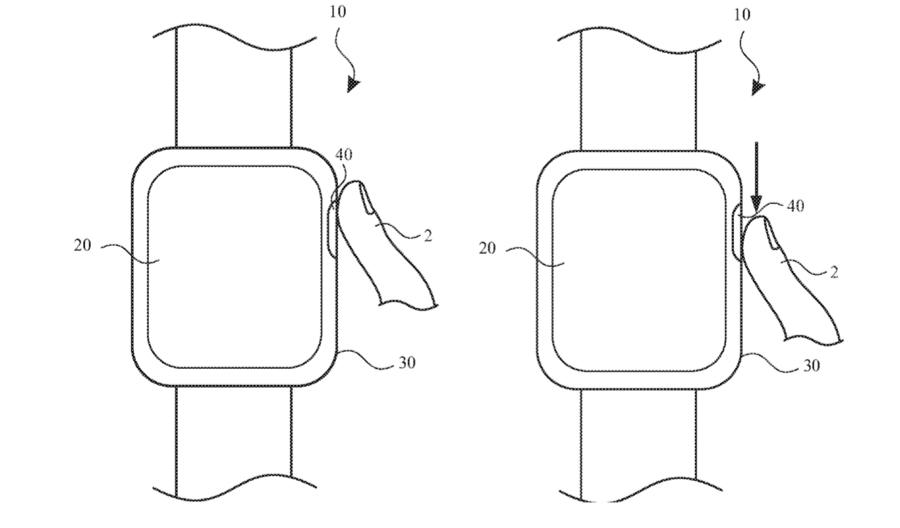 Apple Watch patent Digital Crown
