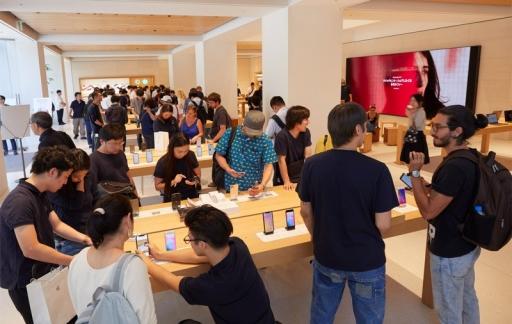 iPhone verkoop Azië
