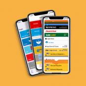 Klantenkaart apps op iPhone.