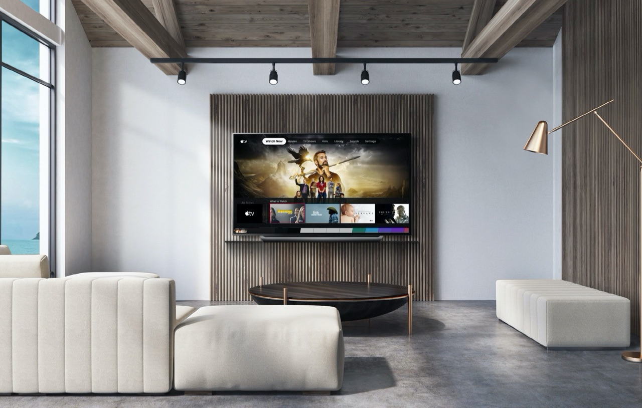 TV-app op LG-televisie.