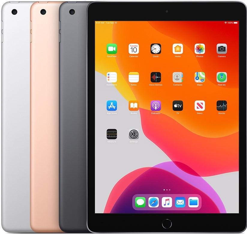 iPad 2019 7e generatie kleuren.