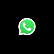 WhatsApp donkere modus.