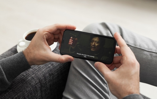 Film-ondertitels op iPhone