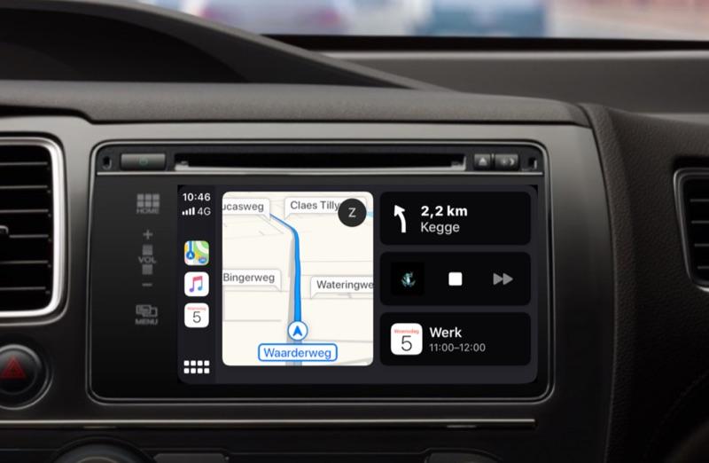 CarPlay Dashboard in iOS 13.