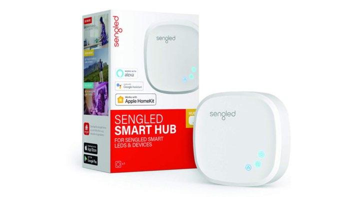 Sengled Smart Hub met verpakking