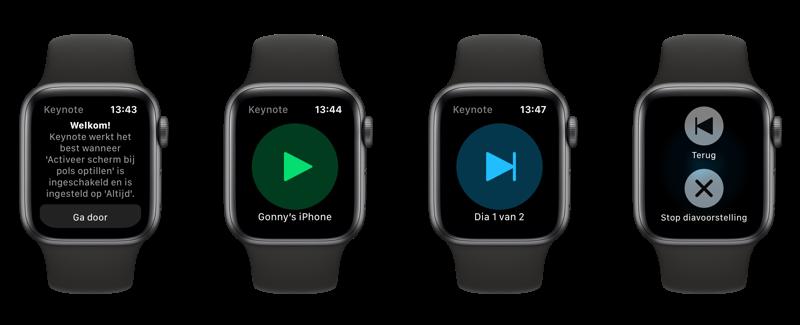 Keynote op de Apple Watch