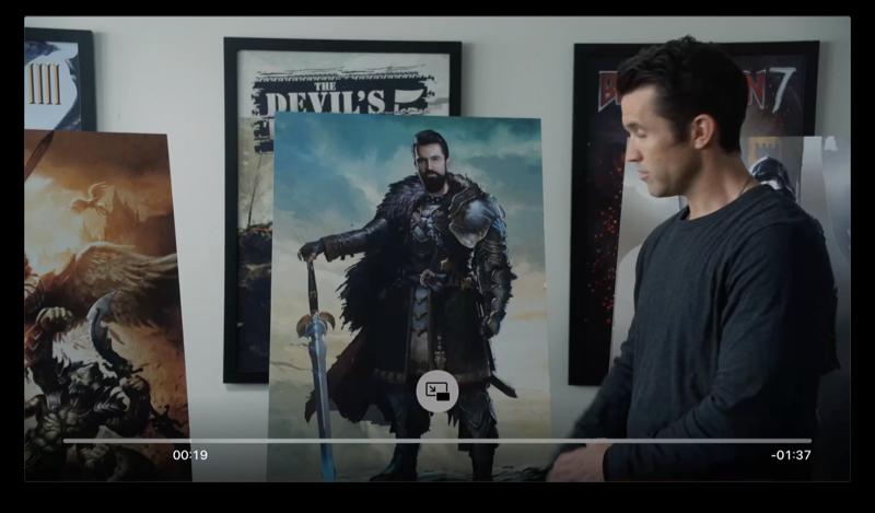 Picture in Picture op de Apple TV starten in de TV-app.