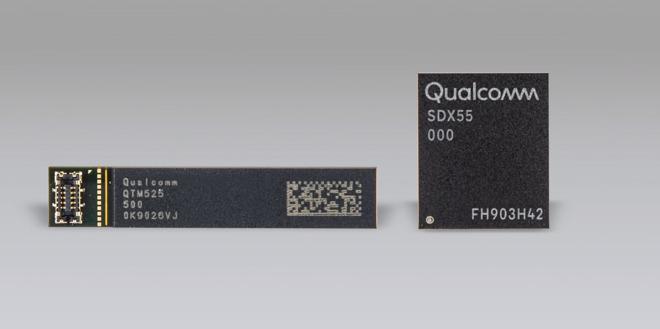 Qualcomm X55 5G-modem-chip