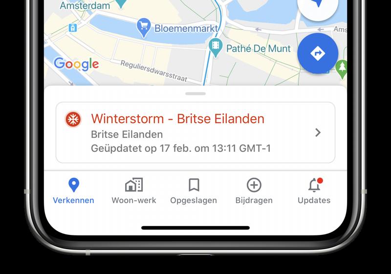 SOS Alert Google Maps