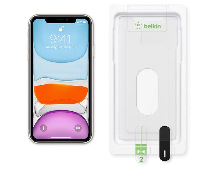 Belkin antireflecterende beschermfolie voor iPhone XR