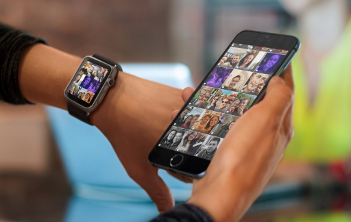 Apple Watch foto's bekijken