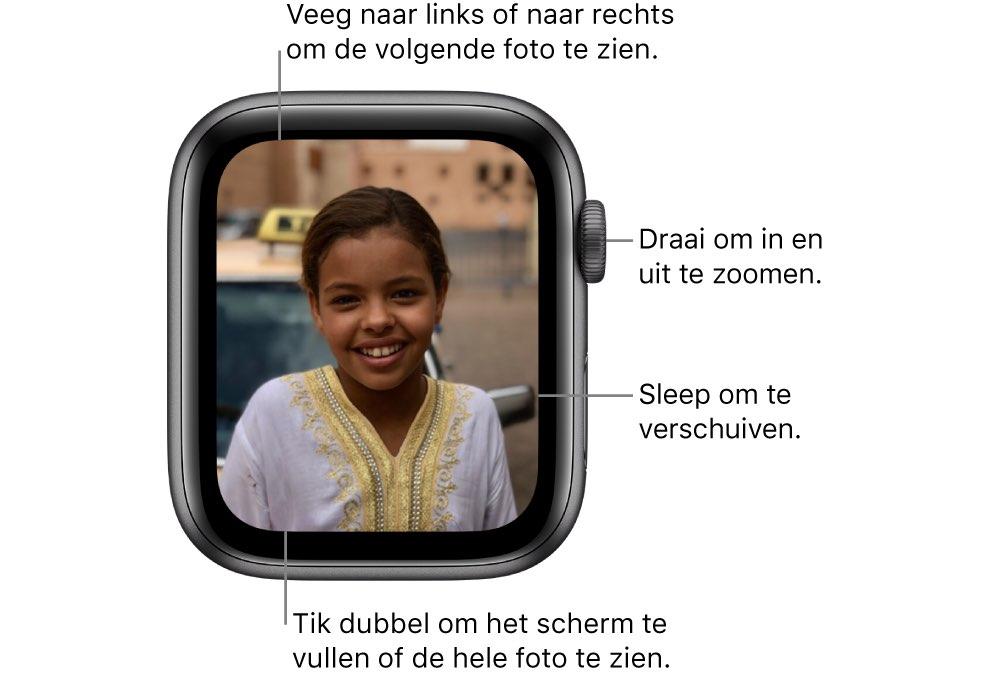 Foto's op Apple Watch