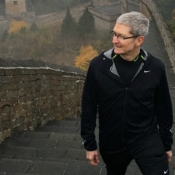 Tim Cook Chinese Muur
