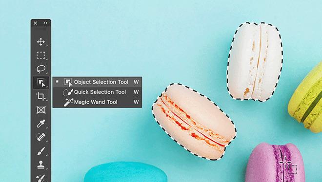 Object selecteren Photoshop iPad