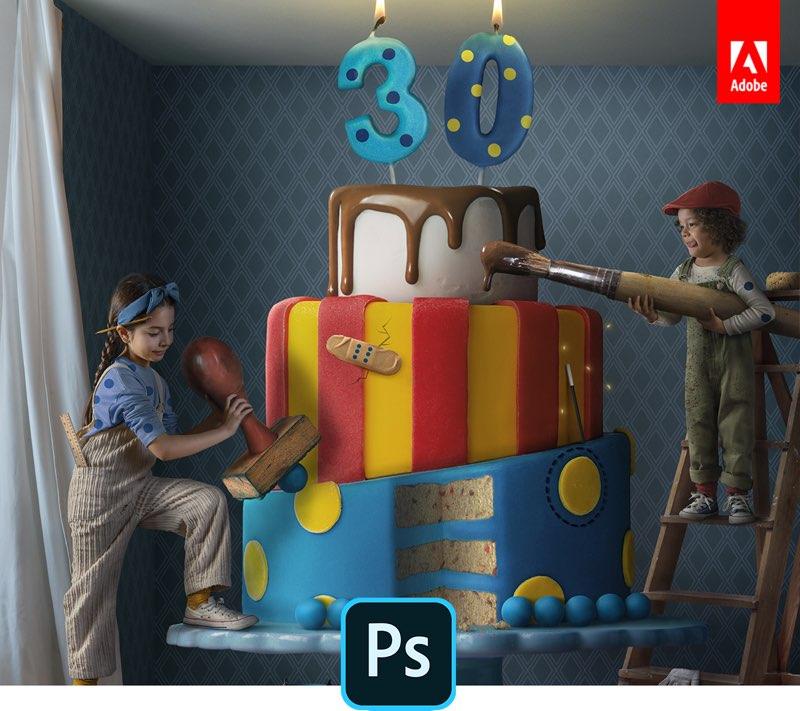 Photoshop 30 jaar
