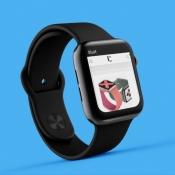 Website bekijken met internet op Apple Watch.