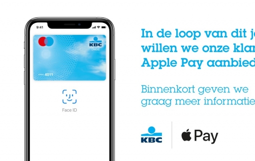 KBC België Apple Pay