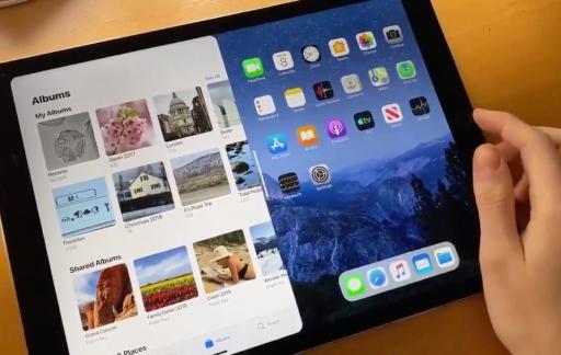Concept multitasking verbeterd op de iPad.