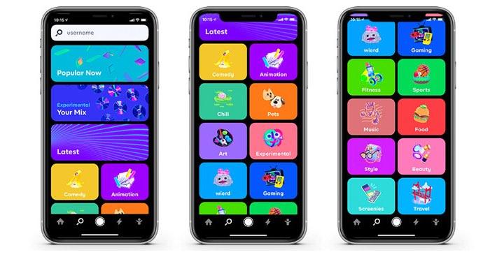 Byte app-schermen