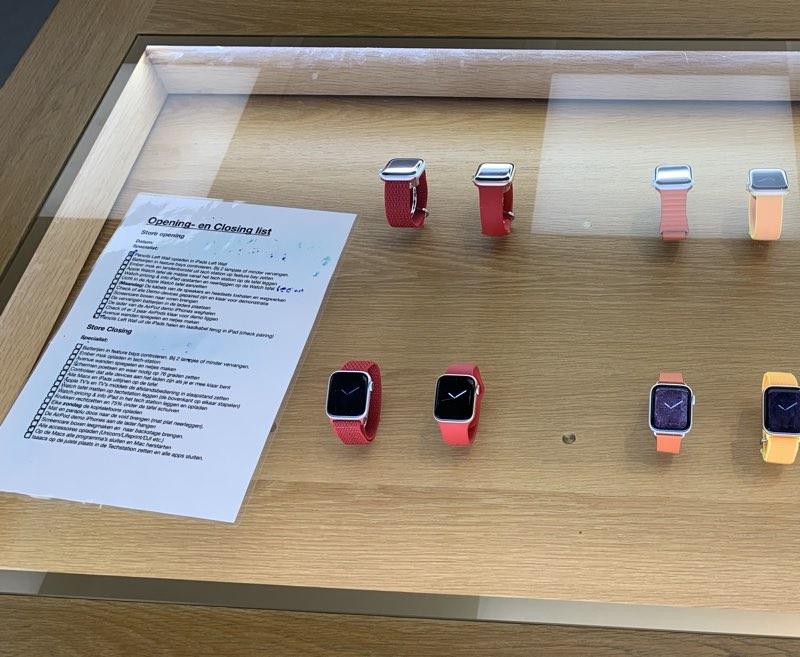 Apple Haarlem opening & closing list