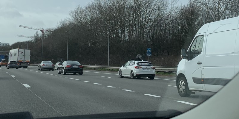 Apple Maps auto in België