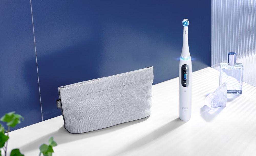 Oral-B iO: tandenborstel in de badkamer