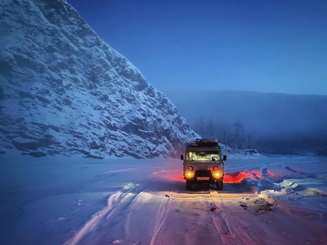 Apple Night Mode Challenge: winnaar uit Rusland in de sneeuw.