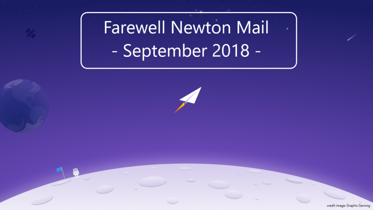 Newton Mail stopte ook al in september 2018