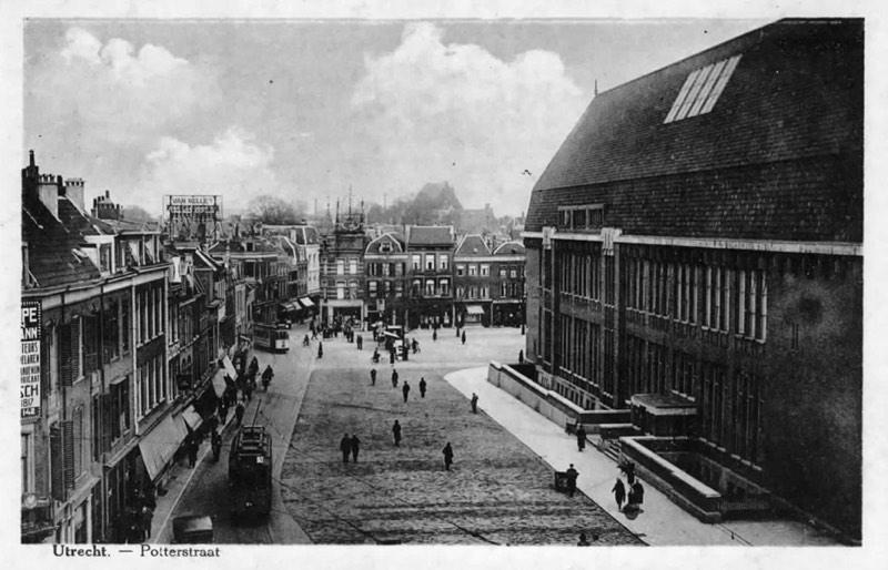 Postkantoor Utrecht Neude en Potterstraat