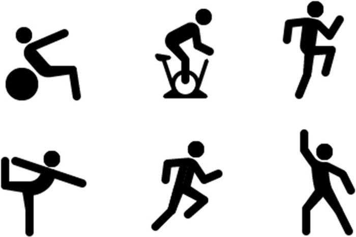 Fitness-app met oefeningen
