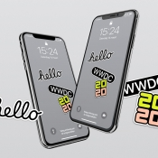 WWDC 2020 wallpapers.