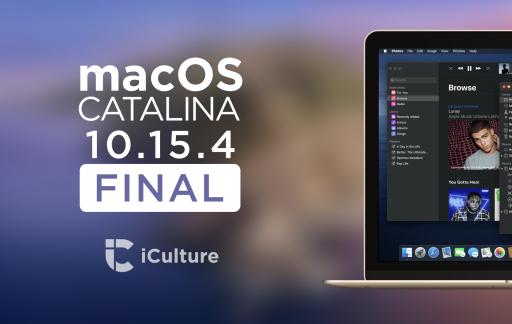 macOS Catalina 10.15.4 Final.