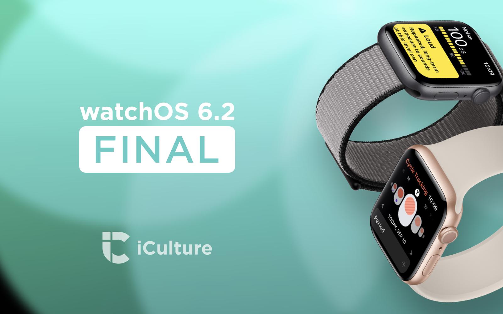 watchOS 6.2 final.