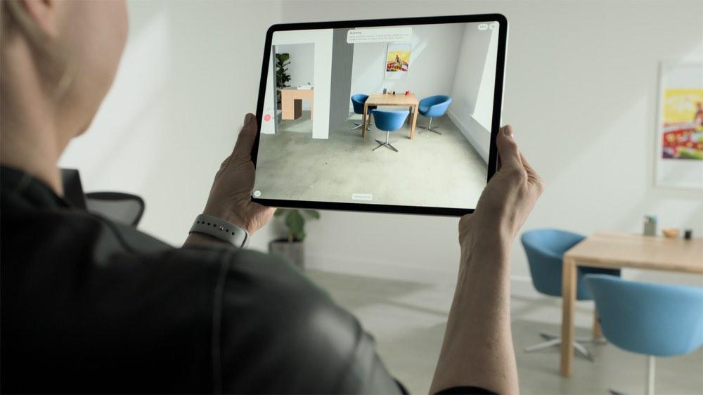 AR-scherm voor iPad Pro 2020