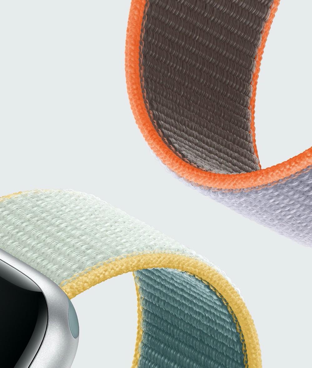 Apple Watch geweven bandje voorjaar 2020 kleuren.