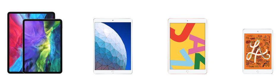 iPad 2020 line-up