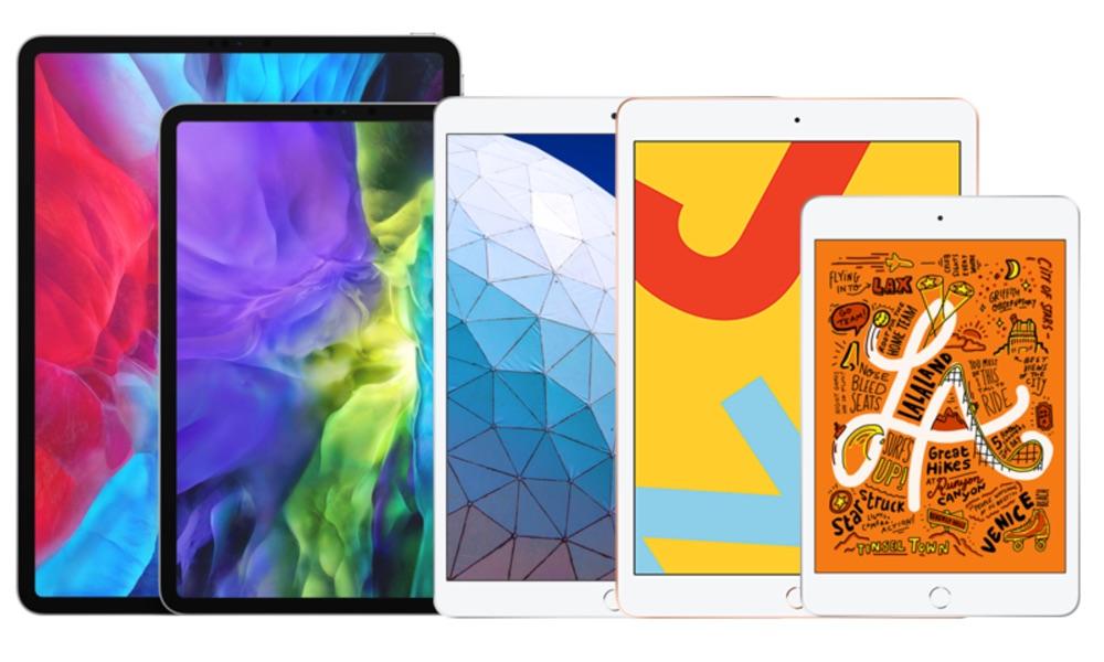 iPad line-up 2020.