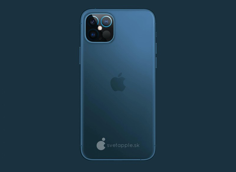 iPhone 12 concept blauw