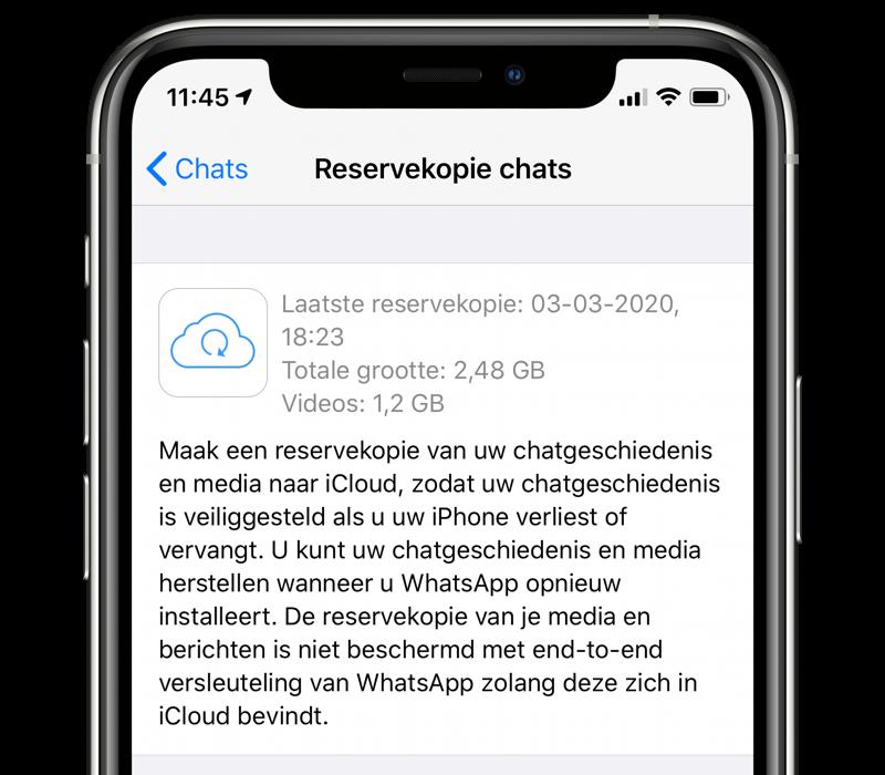WhatsApp backup beveiliging: is mijn WhatsApp backup beveiligd?