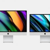 iMac concept voor 2020 met de voorkant.